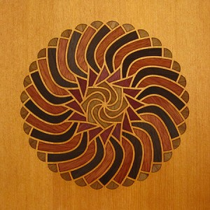 Aldebaran Wood Marquetry Kit Art