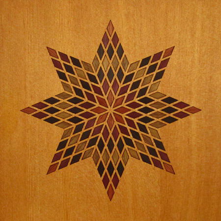106 Betelgeusian Pre-Cut Wood Marquetry Kit